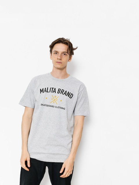 Tričko Malita Brand (heather grey)