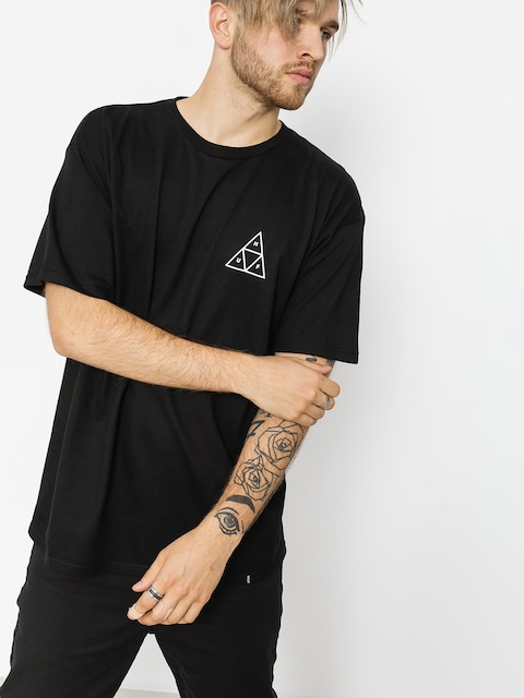 Tričko HUF Essentials TT (black)