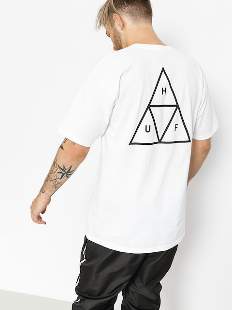 Tričko HUF Essentials TT (white)
