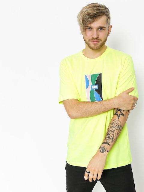 Tričko Koka Glass (neon green)