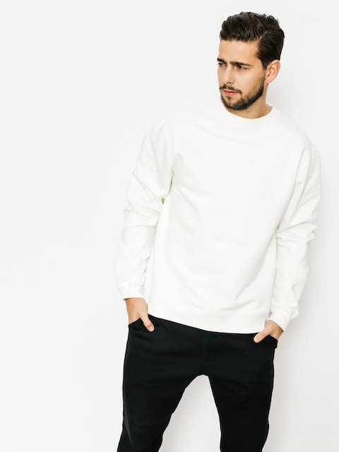Mikina Polar Skate Heavyweight Default Crewneck (ivory white)