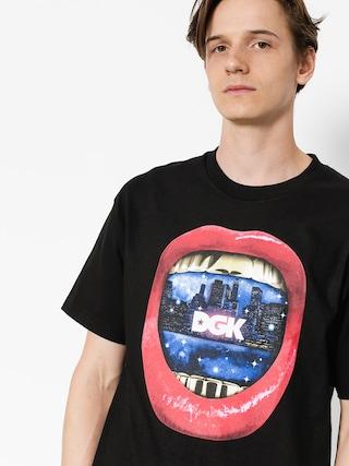 Tričko DGK Sounds (black)