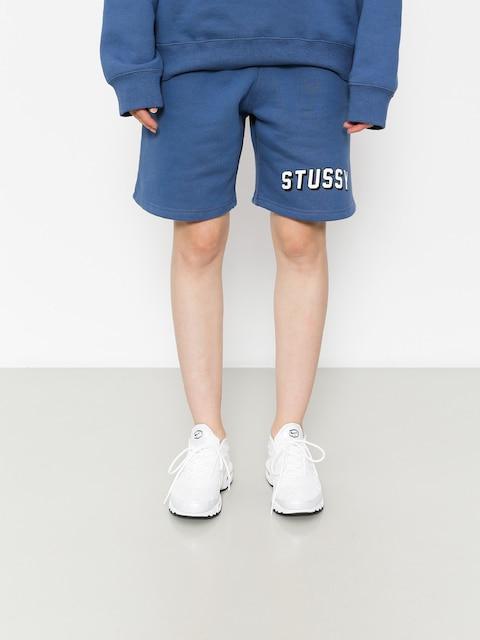 Kraťasy Stussy Collegiate Sweatshort Wmn (cool blue)