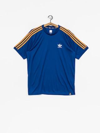 Tričko adidas Bluza Clima Club Jers (collegiate royal/tactile yellow f17)