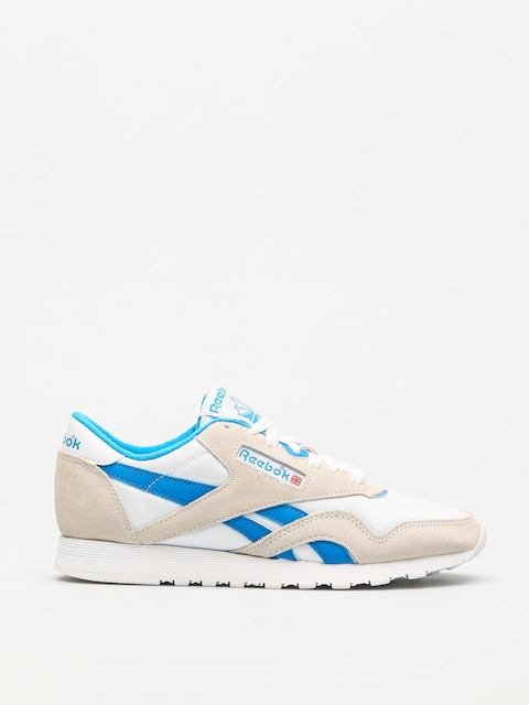 Tenisky Reebok Cl Nylon Wmn (archive white/cycle blue)