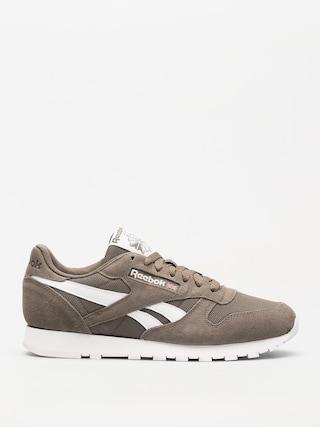 Tenisky Reebok Cl Leather Mu (estl terrain grey/white)