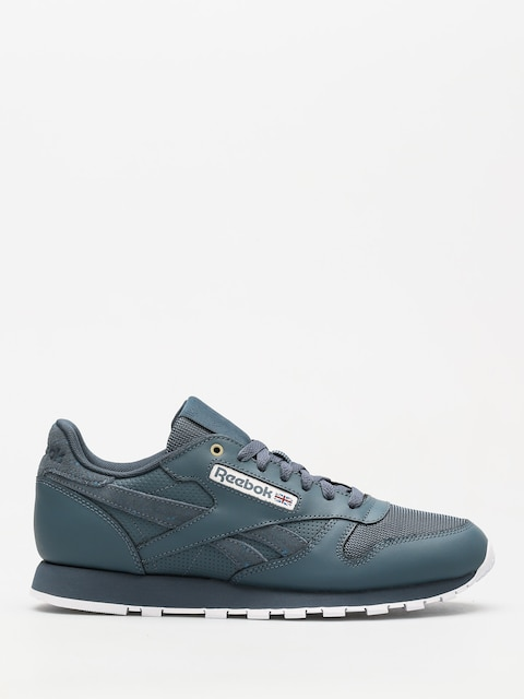 Tenisky Reebok Cl Leather Mu (mc deep sea/mt fuji/white)