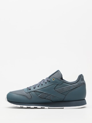 Topánky Reebok Cl Leather Mu (mc deep sea/mt fuji/white)
