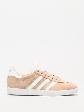 Topu00e1nky adidas Originals Gazelle Wmn (ashpea/ftwwht/linen)