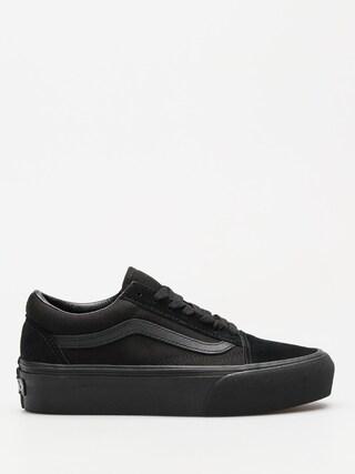 Topu00e1nky Vans Old Skool Platform (black/black)