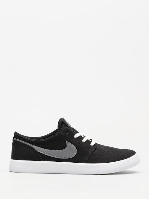Topánky Nike SB Sb Portmore II Slr C Wmn (black/gunsmoke white)