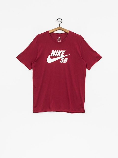 Tričko Nike SB Sb Logo (red crush/white)
