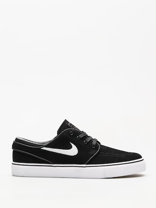Topu00e1nky Nike SB Zoom Stefan Janoski (black/white thunder grey gum light brown)