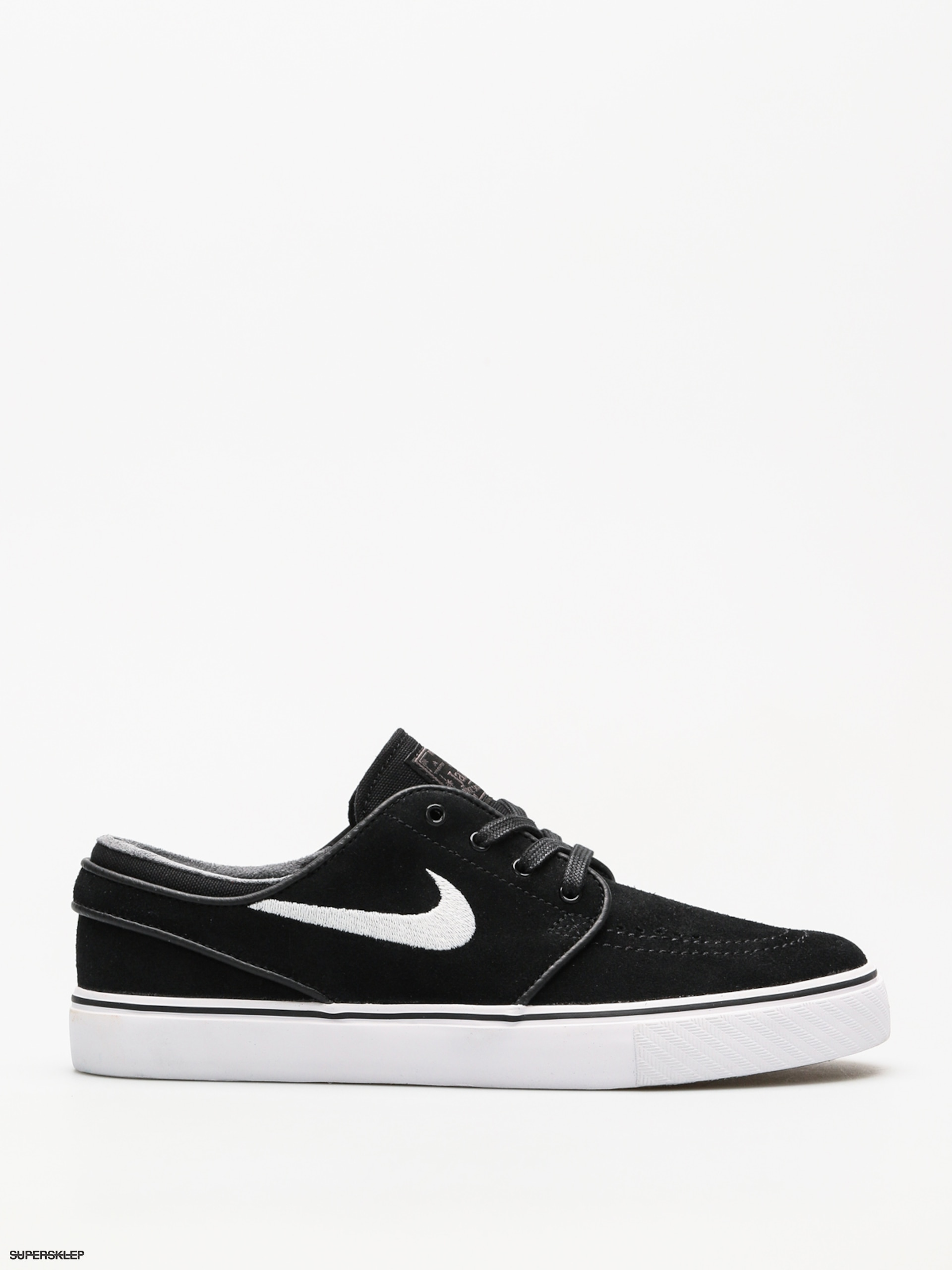 0f0f6c2058066 Topánky Nike SB Zoom Stefan Janoski (black/white thunder grey gum light  brown)