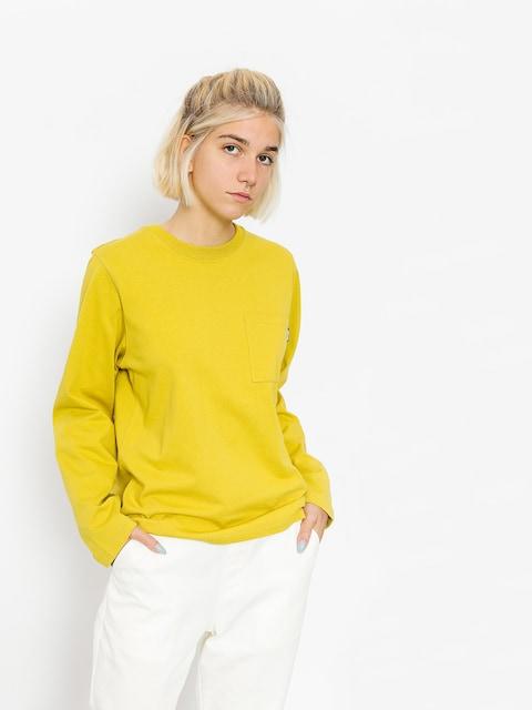 Triko Stussy Ollie Pocket Wmn (yellow)