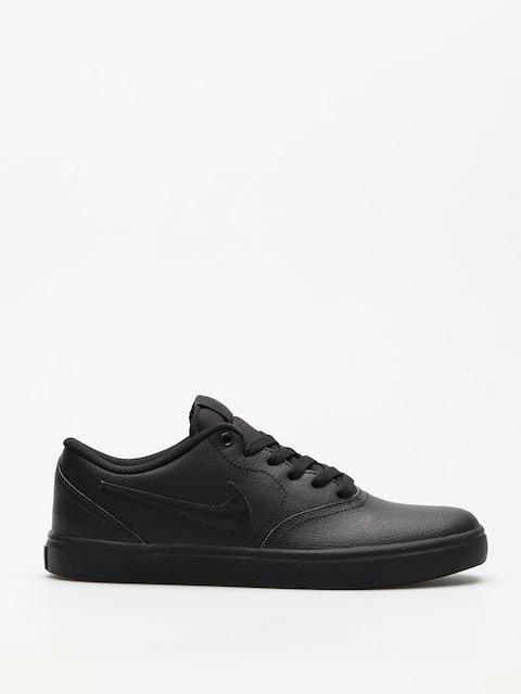 Topánky Nike SB Sb Check Solarsoft (black/black black)
