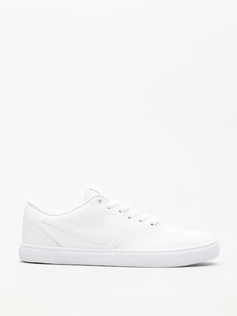 Topánky Nike SB Sb Check Solarsoft (white/white white)