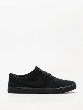 Topu00e1nky Nike SB Sb Solarsoft Portmore II (black/black)