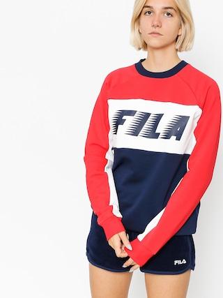 Mikina Fila Layton Colour Block Wmn (peacoat/red/white)