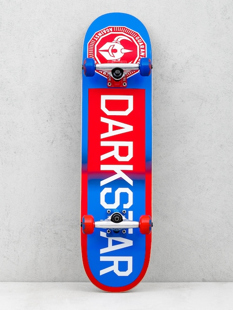 Skateboard Darkstar Time Works (red/blue)