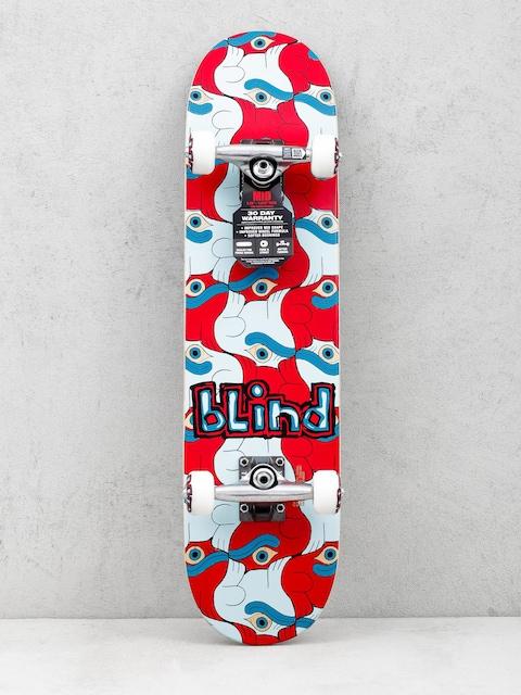 Skateboard Blind Tile Style Youth (red/blue)