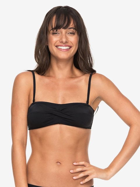 Plavky Roxy   Essentials Top Wmn (anthracite)