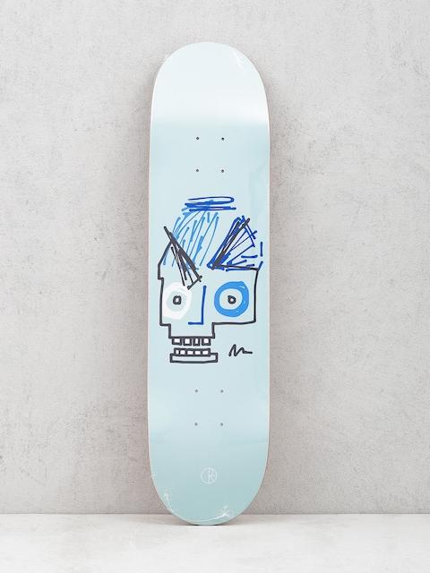 Doska Polar Skate Team Insta Skull (light blue)