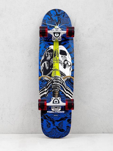 Skateboard Cruiser Powell Peralta Mini Skull And Sword (blue/red)