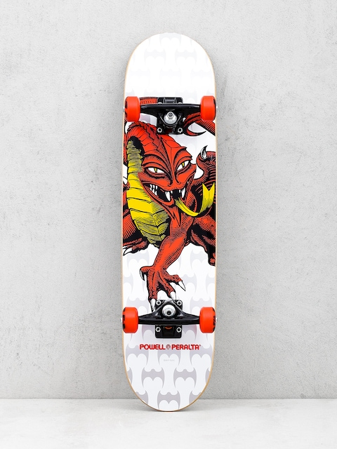 Skateboard Powell Peralta Cap Dragon One Off (white/red)