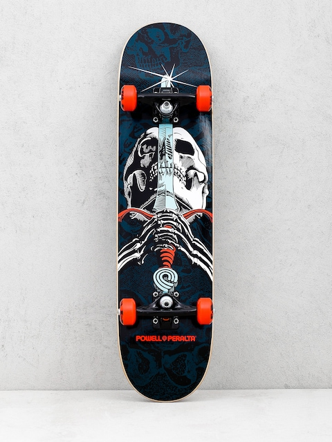 Skateboard Powell Peralta Skull And Sword One Off (turquoise)