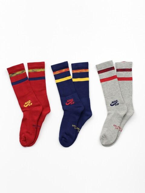 Ponožky Nike SB Sb Crew 3 Pk (multi color)