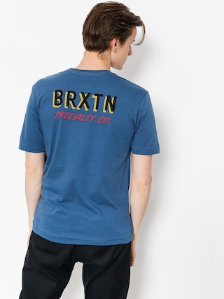 Tričko Brixton Bodega Prt (deep blue)