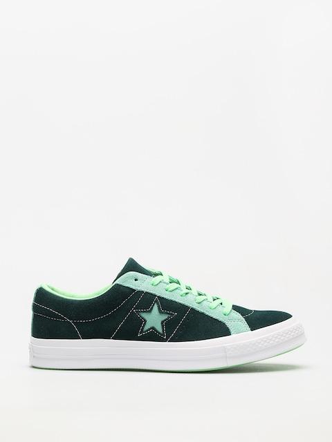 Tenisky Converse One Star Ox (ponderosa pine/neptune green)