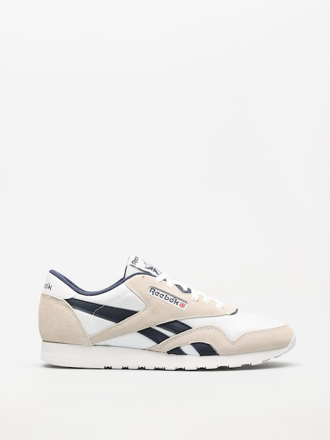 Tenisky Reebok Cl Nylon R (archive white/collegiate navy)