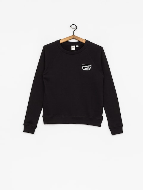 Mikina Vans Full Patch Raglan Wmn (black)
