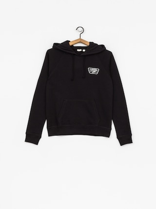 Mikina s kapucňou Vans Full Patch Raglan HD Wmn (black)
