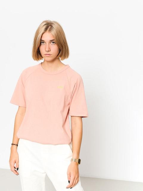 Tričko Stussy Quinn S Sl Raglan Wmn (pink)