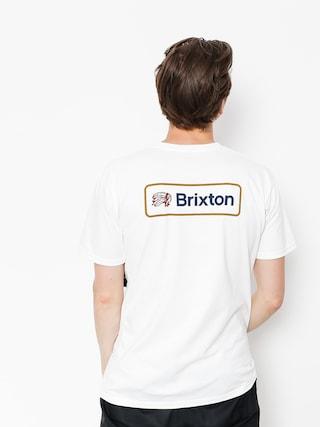 Tričko Brixton Valspar II Stt (white)