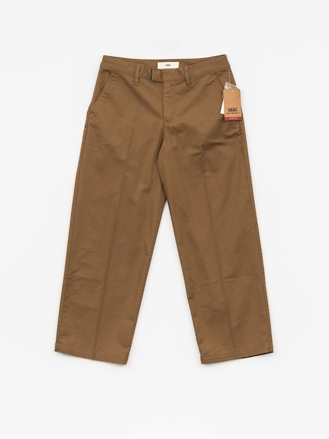 Nohavice Vans Authentic Wide Leg Wmn (dirt)