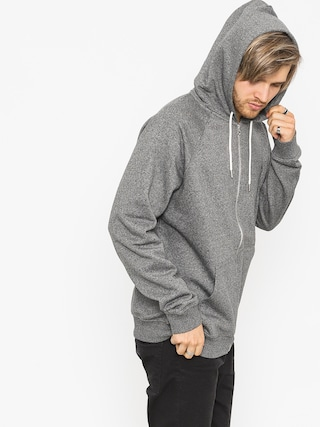 Mikina s kapucu0148ou Quiksilver Everyday ZHD (dark grey heather)