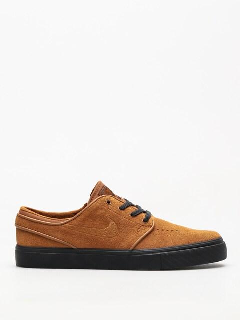 Topánky Nike SB Zoom Stefan Janoski (lt british tan/lt british tan black)