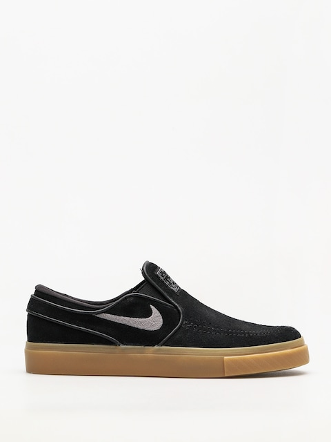 Topánky Nike SB Air Zoom Stefan Janoski Slip (black/gunsmoke gum light brown)