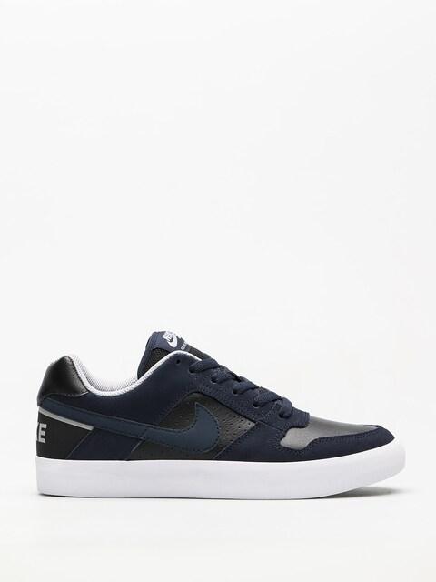 Topánky Nike SB Sb Delta Force Vulc (obsidian/obsidian black wolf grey)