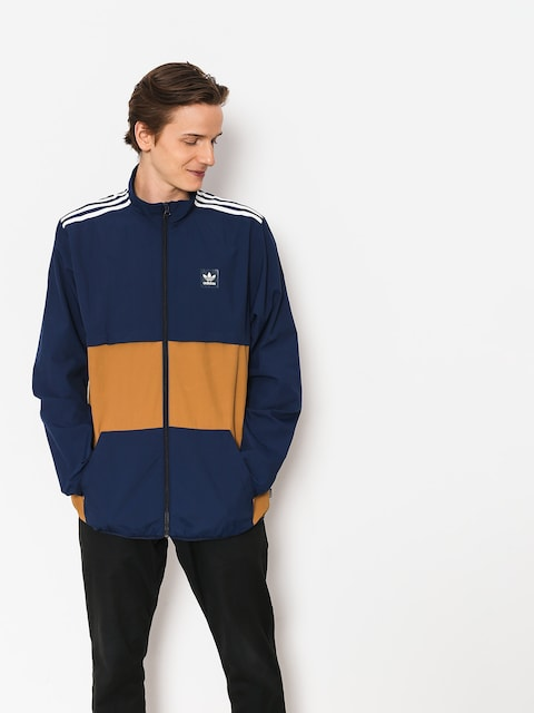 Bunda adidas Class Action (collegiate navy/raw desert/white)