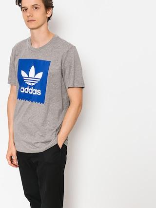 Tričko adidas Solid Bb (core heather/collegiate royal)