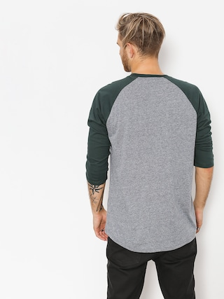 Tričko Vans Classic Raglan (heather grey/darkest spruce)