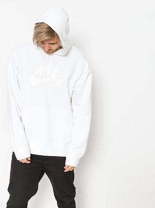 Mikina s kapucňou Nike SB Sb Icon HD (white/white)