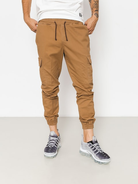Nohavice Diamante Wear Rm Hunter Jogger (brown)