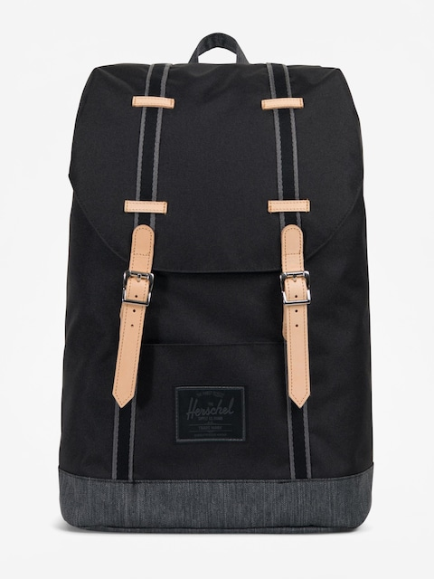 Batoh Herschel Supply Co. Retreat (black/black denim)