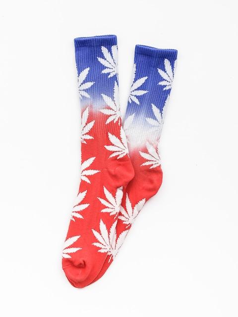 Ponožky HUF Huf Plantlife Usa (red)